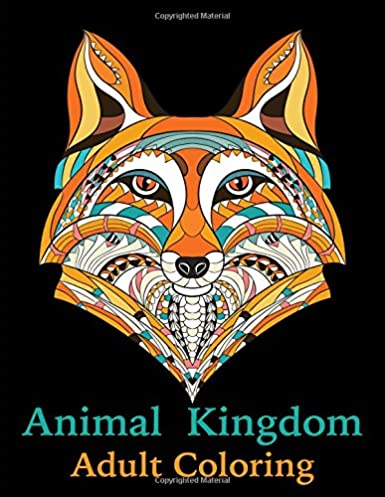 Animal Kingdom: Adult Coloring