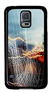 Samsung Galaxy S5 DIY cover Follow The Lines PC Black Custom Samsung Galaxy S5 Case Cover by supermalls
