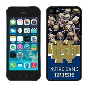 NCAA Independents Notre Dame Fighting Irish 9 Black Cool Photo Custom iPhone 5C Phone Case