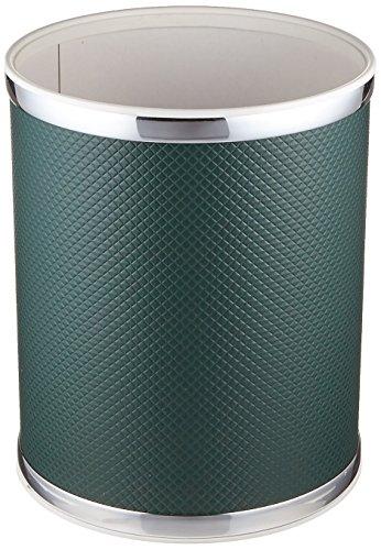 Redmon Budget Round Hunter Green Wastebasket ()