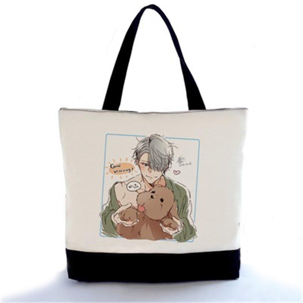 29d9f97cac86 70%OFF Siawasey Yuri On Ice Anime Cosplay Handbag Messenger Bag ...