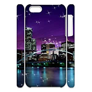 SYYCH Phone case Of City Lights Cover Case For Iphone 5C