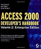 Access 2000 Developer's Handbook, Paul Litwin and Mike Gilbert, 0782123724