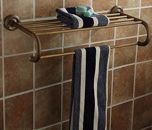 well-wreapped EQEQ The Napkins Stand Space Bathrooms Copper 61.526 cm of The Assembly On A Shelf