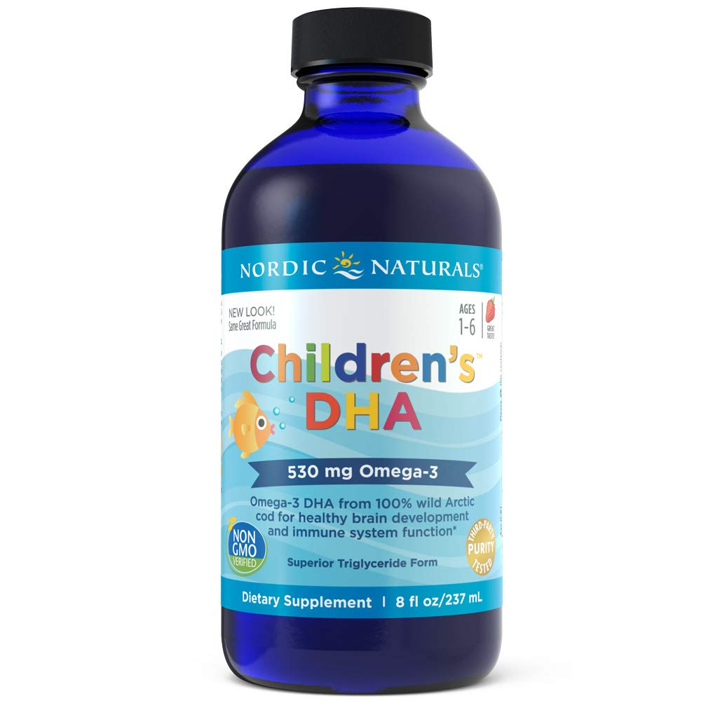 Nordic Naturals - Children's DHA, Healthy Cognitive Development and Immune Function, 8 Fl Oz