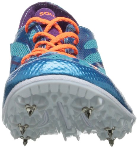 Saucony - Zapatillas de atletismo para hombre BLUE/PURPLE/ORANGE