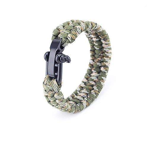 prezzo più basso 17e45 c762d Bracciali Ombrello Corda Intrecciato Bracciale Arrampicata ...