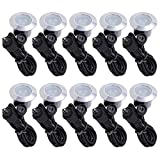 Yescom 10 x Deck Lights Decor Garden Mall Outdoor Romantic Beauty Step Stair Lamp Warm White IP65 Waterproof
