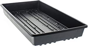 100 PK- 1020 Plant Trays, NO Holes, Heavy Duty