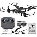 Belldan Drone with Wide Angle Camera, WIFI FPV Quadcopter MINI HD Camera Altitude Hold Mode Foldable APP Control Pocket Drone RTF