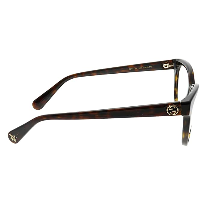 35854b06386 Amazon.com  Eyeglasses Gucci GG 0373 O- 002 HAVANA    Clothing