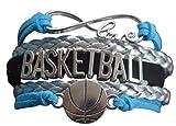 Basketball Bracelet- Charm Bracelet- Basketball Jewelry For Girls- Perfect Basketball Gift