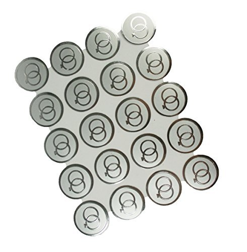 100 Silver Double RINGS Print Wedding Round Envelope Seal Stickers 1 inch Diameter