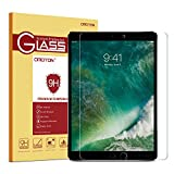 iPad Pro 10.5 Screen Protector - OMOTON [Apple Pencil Compatible] Tempered Glass Screen Protector with [9H Hardness] [Crystal Clear] [Anti-Scratch] [Bubble-Free Installation] for iPad Pro 10.5 inch