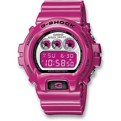 82cdd2d7b780 Unisex watch RELOJ CASIO G-SHOCK FUCSIA DW-6900CS-4ER  Amazon.ca   Electronics
