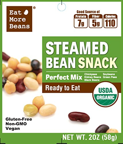 Steamed Bean Snack- Perfect Mix! A Delicious, Quick and Healthy Snack! ()