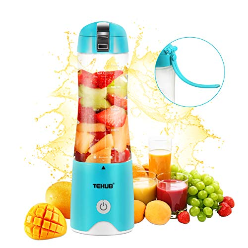 Portable Blender for Shakes and Smoothies Mixer Cup Small Travel Blender Mini Juicer Cup Personal Size Fruit Mixer USB Rechargeable Baby Food Blender Single Serving Juice Blend Jet (Baby Fruit Blender)