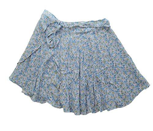 Denim & Supply Ralph Lauren Wrap Skirt Blue Size Large -