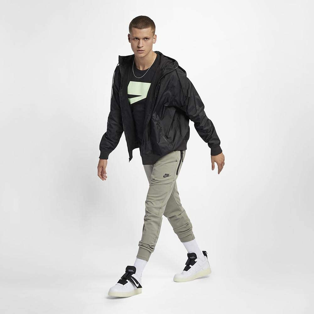Nike Herren M Nsw He Wr Jkt Hd Jacket black/Black/Black/(sail)
