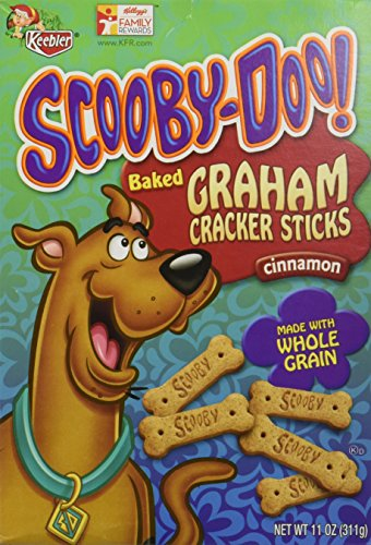 Keebler Scooby-Doo! Graham Cracker Sticks - Cinnamon - 11 oz
