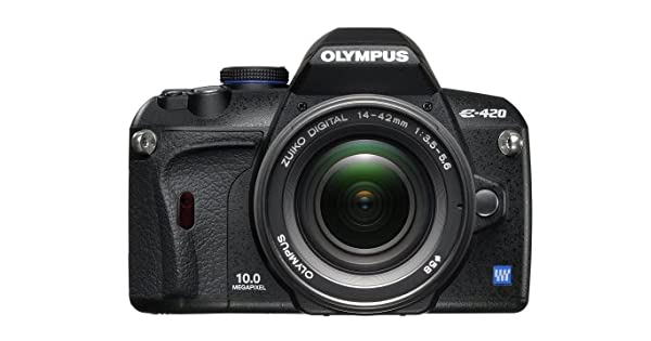 Amazon.com: Olympus EVOLT E420 10 MP Cámara réflex digital ...