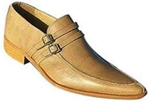 TALLA 42 EU. Class Slipper Class - Mocasines de Cuero para Hombre