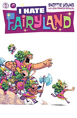 I Hate Fairyland 1 2 3 4 5 6 7 8 9 10 11 12 13 14 15 Complete Comic Set Young