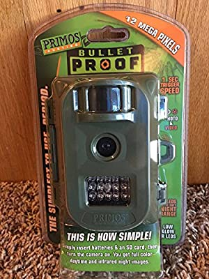 Primos Hunting 63162WM Bullet Proof 12MP Low Glow Trail Camera by Primos