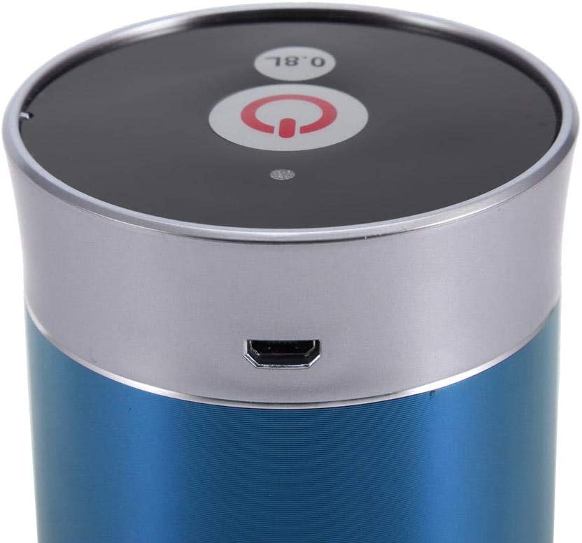 Fdit Water Dispenser USB Charging Drinking Water Pump Wireless Rechargeable Bottle Electrical Pump Drinkware Dispenser Blue