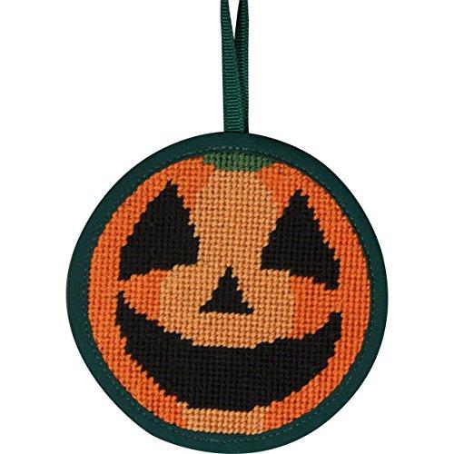 Alice Peterson Stitch-Ups Pumpkin Needlepoint Ornament Kit