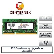 8GB RAM Memory for Microstar (MSI) GT70 Dominator (DDR312800) Laptop Memory Upgrade by US Seller