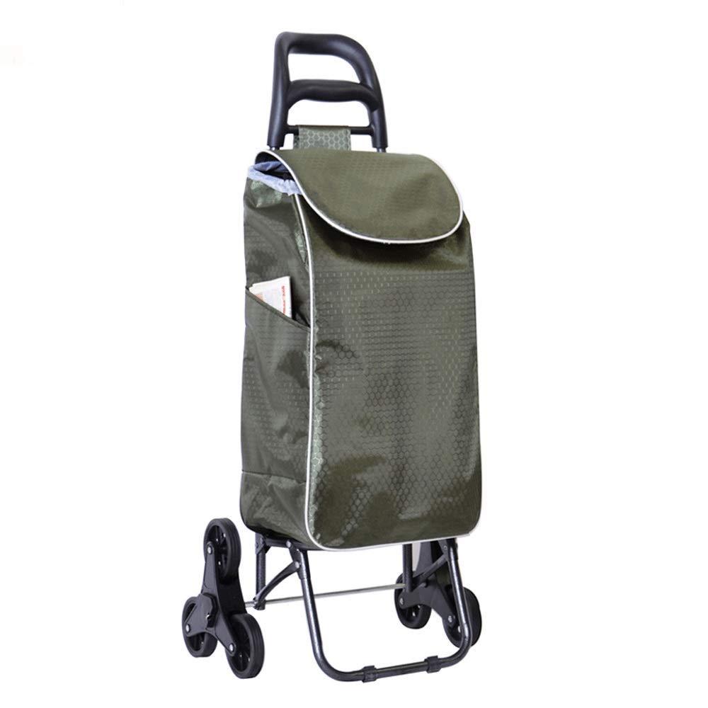 A~LICE&C Commode Business Pliant Shopping cart Maison Shopping Voiture Voyage Chariot Sac d\'affaires Portable Petit tirage Chariot, Chariot de Bagage