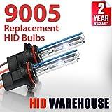 HID-Warehouse AC HID Xenon Replacement Bulbs - 9005 10000K - Dark Blue (1 Pair) - 2 Year Warranty