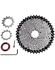 Dioche Cassette de Velocidad de Bicicleta, Bicicleta Rueda Libre Piñón 10 Velocidad 11-42T Accesorio de Reemplazo de Bicicleta