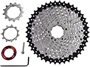 ZTTO Bike Freewheel, Cassette Sprocket 10 Speed 11-42T Bicycle Replacement Accessory