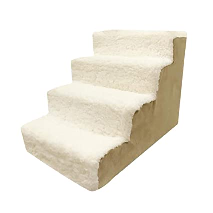Admirable Amazon Com Pet Stairs 4 Step Dog Stairs Best Pet Gear Dailytribune Chair Design For Home Dailytribuneorg