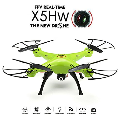 REALACC-X5HW-WIFI-FPV-Quadcopter-with-HD-Camera-Live-Video-Headless-Altitude-Hold-Mode-Remote-Control-24Ghz-4CH-6Axis-RC-Toy-Drone-RTF-Mode-2