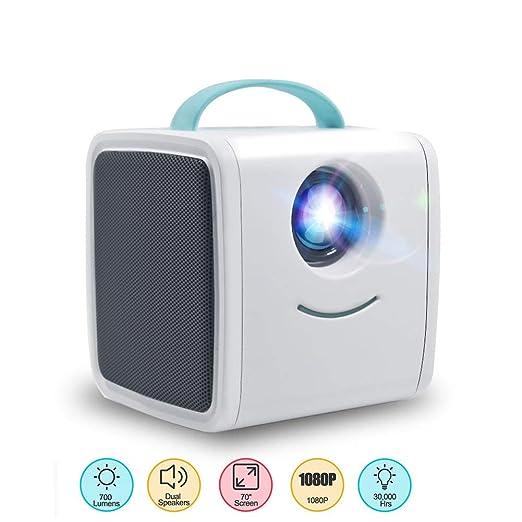 YSCCSY Mini proyector DLP 700 Lumen Regalo para niños Proyector ...