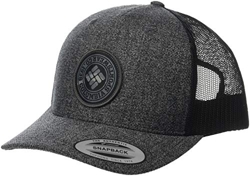 2a091ac694f0 Columbia Men s Mesh Snap Back Hat -Grill Heather Circle Patch