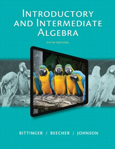 Introductory And Intermediate Algebra  Plus New Mymathlab With Pearson Etext    Access Card Package  5Th Edition