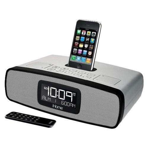 SOUND DESIGN, INC. iHome iP90SZ Dual Alarm Clock Radio fo...