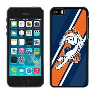 Custom Gift Special Iphone 5c Case NFL Denver Broncos 10 Team Logo Sports Cellphone Protector