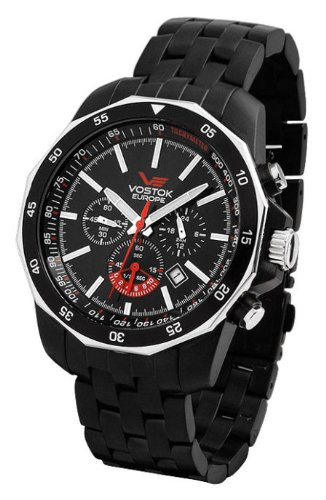 Vostok-Europe - N1 Rocket - Russian Chronograph Watch - 0S22-2202099B