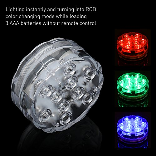 Review Submersible LED Lights, 10