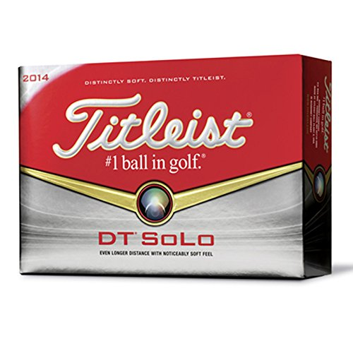 Titleist DT Solo Golf Balls (12-Pack) by Titleist (Image #1)