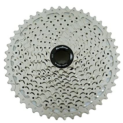 Sunrace Cs-ms 10-speed---11-36t Mtb--road Silver Bicycle Cassette Sporting Goods Cassettes, Freewheels & Cogs