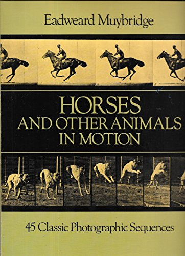 Eadweard Muybridge Horse Galloping (Horses and Other Animals in Motion: 45 Classic Photographic Sequences (Dover Anatomy for Artists) by Muybridge, Eadweard (1985) Paperback)
