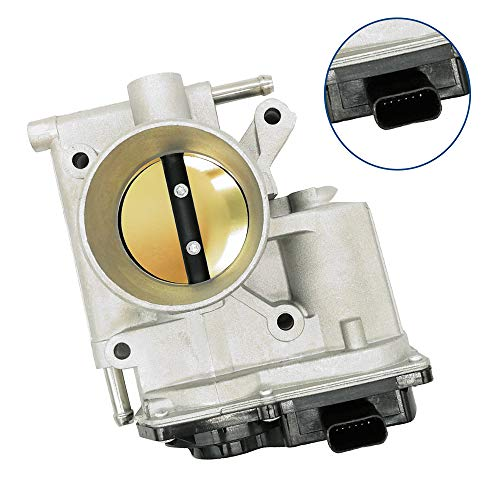 Amrxuts Fuel Injection Throttle Body for 2006-2013 Mazda 3 2008-2010 Mazda 5 2006-2008 Mazda 6 2.0L 2.3L L3R413640