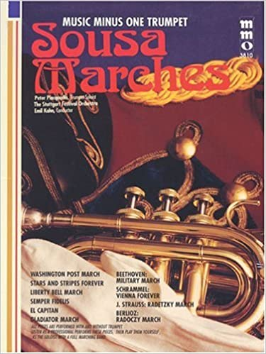 Berlioz Sousa Marches Plus Beethoven Trumpet Play-Along Book//CD Pack Strauss