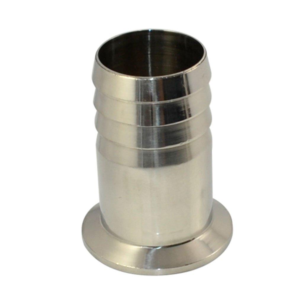 38MM 1.5 OD Adaptador De Tuber/ía Sanitaria Manguera De P/úa Apropiado Se Aplica TRI CLAMP OD 50.5mm